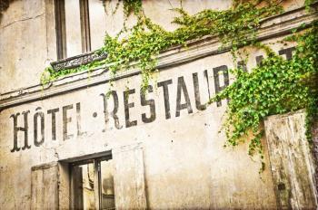 hotel rest vintage