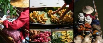 Thailand Domnoen Saduak Water  Market