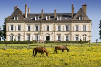 Chateau_face_sud_chevaux_B.Houtsmuller