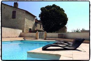 Domaine Sainte Cécile piscine