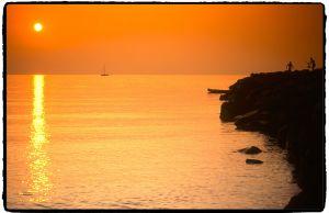 soleil couchant-corse-france-paysage