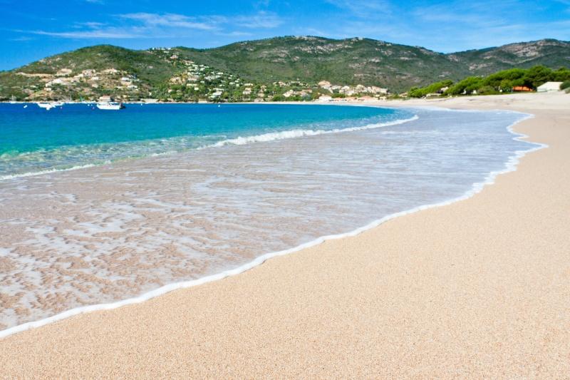 plage de Sagone, Corse