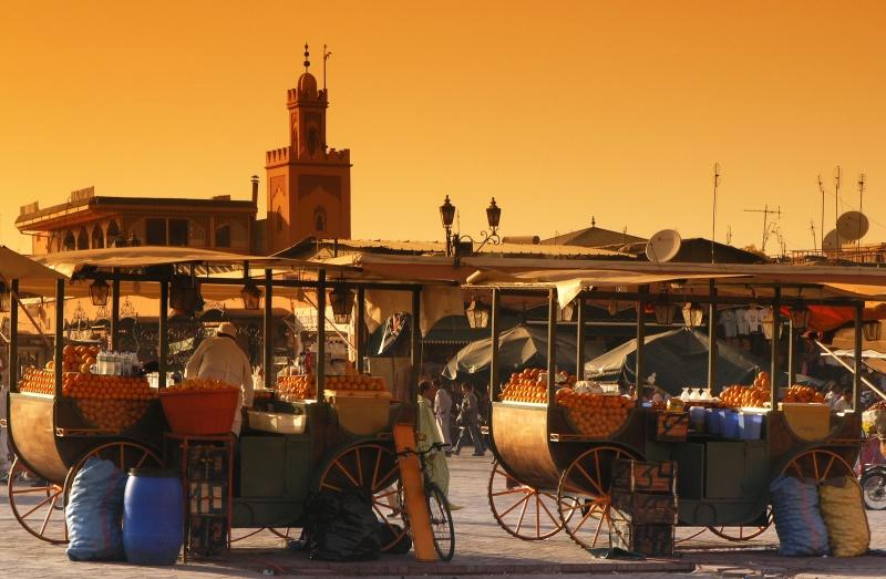 marrakech djema el fna